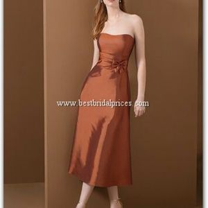 "Alfred Angelo ""Mocha""Taffeta Dress NWT- Size 8"